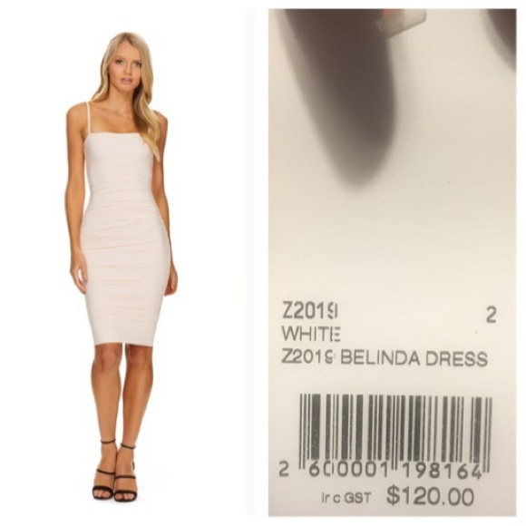 078ee73b18 Kookai Belinda Dress White Size 2